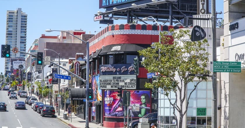 recommended neighborhood for tourist los angeles