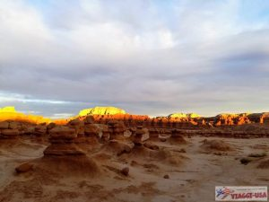 goblin valley sunset
