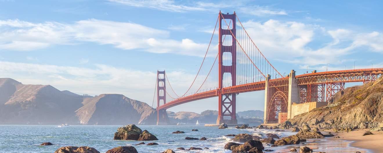 Golden Gate bridge views