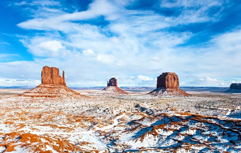 Best time to visit Monument Valley