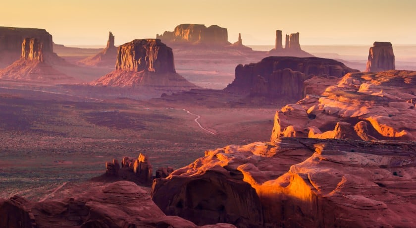 Monument Valley in April and May
