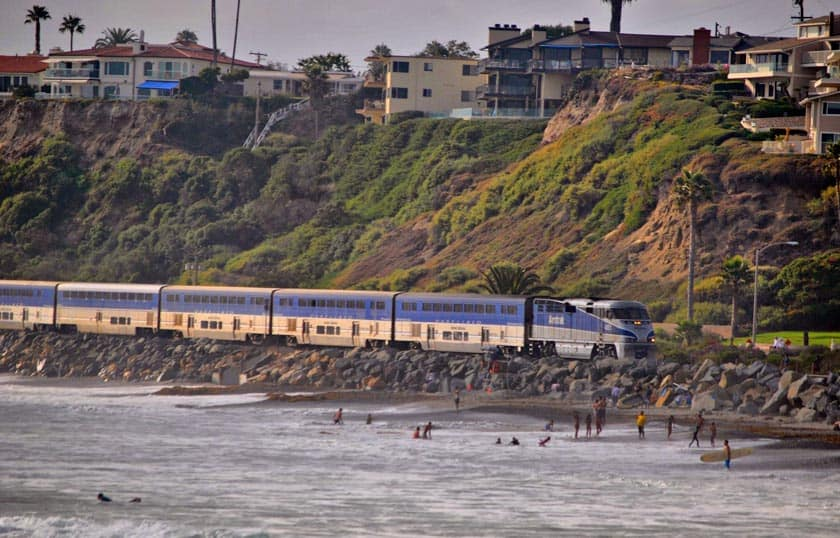 From Los Angeles to San Diego by Train